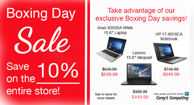 boxing-day-sale-winnipeg-laptop-used