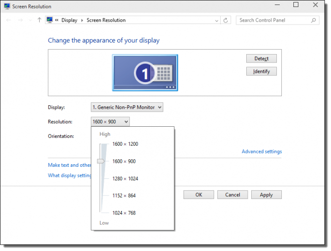 How to Add a Custom Screen Resolution in Windows 10